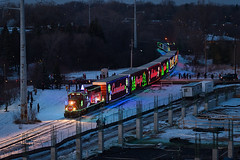 2017 CP Holiday Train (shawn_christie1970) Tags: goldenvalley minnesota unitedstates us canadianpacific holidaytrain cp2246 emd gp20ceco christmas winter nightshot