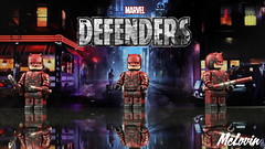 Daredevil - The Defenders (McLovin1309) Tags: daredevil devil hells kitchen man without fear defenders netflix custom lego minifig minifigure figure fig sculpt marvel superhero comic comics toy toys