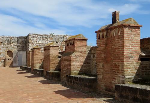 Dans la forteresse (XVe-XVIe), Salses, Corbières maritimes,   Roussillon, Occitanie, France.