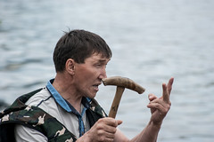 Oblas-12 (Polina K Petrenko) Tags: river boat khanty localpeople nation nationalsport nature siberia surgut tradition traditionalsport
