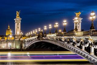 Combo pont Alexandre III & Les Invalides