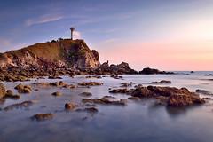 9CB_5604 (pattana92392) Tags: seawave sea longexposure sunset coast lighthouse water fineart stone