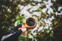 Autumncoffee-7 (junestarrr) Tags: autumn fall firstsnow finland oulu kalimenoja outdoors woods nature coffee kuksa bonfire trees forest intothewild north nordic visitfinland