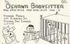 OS: Oshawa Babysitter - Oshawa, Ontario (73sand88s by Cardboard America) Tags: qsl cb cbradio qslcard vintage ontario os babysitter