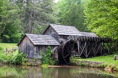 Mabry Mill 8595 (Ursula in Aus) Tags: blueridgeheritagearea blueridgemountains blueridgeparkway mabrymill usa va virginia