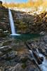 Golfarone waterfall (Olmux82) Tags: waterlfall nikon d750 autumn autunno neve snow italy italia cascata del golfarone
