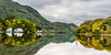 Muckross Lake (Kjeldvdh) Tags: tree foliage bush lake ireland killarney national park landscape panorama colour color autumn water wasser mountain rock stein sky air wolke wolken clouds vibrant europe europa island nature natuur reflection outdoors