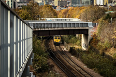 Hunslet Autumn (Andrew Shenton) Tags: 66594 66517 hunslet leeds freightliner midlandroad stourton