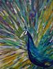 Kim's Peacock (BKHagar *Kim*) Tags: bkhagar art artwork painting artday acrylic peacock