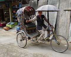 Cycle rickshaw (posterboy2007) Tags: kathmandu nepal capitalcity cycle rickshaw cyclerickshaw transportation street driver sony rx100m3
