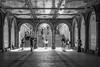 Shooting Gallery (John St John Photography) Tags: centralpark bethesdaarcade bethesdafountain newyorkcity newyork streetphotography candidphotography photographers photo shoots people peopleofnewyork bw blackandwhite blackwhite blackwhitephotos johnstjohn