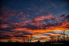 November 26, 2017 - Another amazing Colorado sunset. (Michelle Jones)