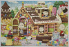 """Peanuts Gang Sweet House"" ~ United Feature Syndicate Inc. (pau_hana_puzzlers) Tags: charliebrown snoopy sallybrown lucyvanpelt linusvanpelt rerunvanpelt marcie woodstock gingerbreadhouse"