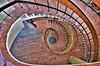 I got my eyes on you !  :-) (Zana Suran) Tags: ionmincu university architecture urbanism bucharest universitatea arhitectură bucurești romania staircase eyes