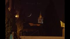 Torre del Convento de las Pelayas (Diego Rai) Tags: timelapse video moonset moon luna night noche