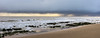 Wet horizon (philbarnes4) Tags: waves rock chalk cloud dslr philbarnes nikond5500 dumptongap rain storm seascape horizon