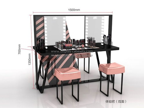 CS087 cosmetics display cases