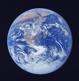 NASA Satellite Photo of Earth From Space - Stock Photography