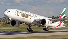 A6-EPN LMML 05-12-2017 (Burmarrad (Mark) Camenzuli) Tags: airline emirates aircraft boeing 77731her registration a6epn cn 42333 lmml 05122017