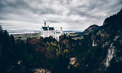 The Castle (Tim RT) Tags: tim rt south bavaria bayern süden germany deutschland castle schloss neuschwanstein new autumn herbst win wi white beautiful awesome building old rocks wood woodland outdoor travel nature sky clouds landscape landmark canon 6d 6d3 6dmk3 mark3 mark ii 1635mm l lense hypebeast visual inspired