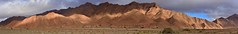 Wadi Issafn (orientalizing) Tags: antiatlas bedding colorful craggy desert folding issafn landscape morocco panorama striations sunset wadiissafn