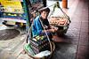 Working Man in Bangkok - Chinatown Market (Tiziana de Martino) Tags: market china town bangkok city street man work food sittin ngc