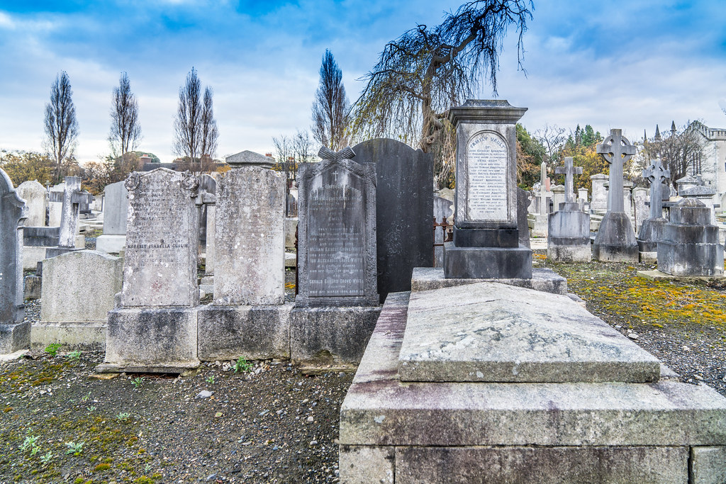MOUNT JEROME CEMETERY IS AN INTERESTING PLACE TO VISIT [IT CLOSES AT 4PM]-134360