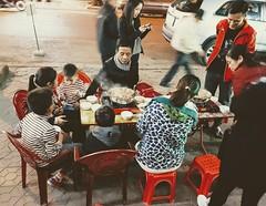 winter dinner (HopeSun) Tags: winter dinner hotspot street family haiphong vietnam