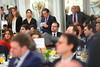 Javier Maroto durante la intervención de Mariano Rajoy (Partido Popular) Tags: pp partidopopular marianorajoy rajoy europapress