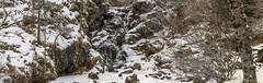 Panorámica Riu Pollós, Principat d'Andorra (kike.matas) Tags: canon canoneos6d sigma105mf28exdgoshsm sigma kikematas panorámica riupollós arinsal lamassana andorra andorre principatdandorra pirineos paisaje nieve nature hielo cascada rocas arboles agua lightroom6 senderismo андорра