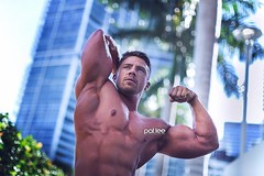 Portrait (Pat Lee Photographer) Tags: muscle bodybuilding fitness fitfam gym fitspiration shredded abs hunk beefcake male man