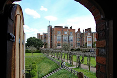 "The ""new"" Hatfield House from the Old Hatfield House (Can Pac Swire) Tags: england english great britain british manor house stately home mansion hertfordshire hatfield al9 jacobean building architecture 1600 1610 1600s 1610s 2016aimg1784 old palace tudorera 1480s 1490s"