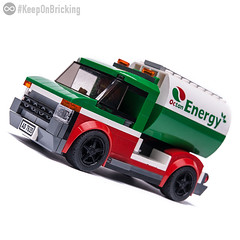 Octan TRUCK (KEEP_ON_BRICKING) Tags: lego speed champions octan truck car moc custom design wheels rims color scheme crew oil tanker keeponbricking youtube video instructions tutorial howtomake