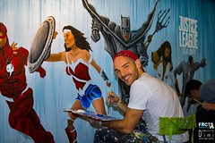 Justice League Ben Heine Live Art Performance for Movie Official Release (Warner Bros) - Made at Facts Comic Con (Flanders Expo) and Exhibited at Kinepolis Belgium (Antwerpen and Brussels) (Ben Heine) Tags: benheineart justiceleague painting peinture film movie art warnerbros project actor character superhero liveperformance cyborg aquaman superman flash wonderwoman batman music drawing dessin cinema ugc kinepolis benheine schilderij schilder liveart factsconvention flandersexpo kinepolisbrussels kinepolisantwerpen barnyard comiccon contemporaryart facts bocaro cyriel vs fox dccomics comics bd sketch colorful artist making exposition exhibition belgium heroes team collaboration artwork artsy color arte traditionalart speedpainting actionpainting arts graffiti grafiti brushes uncool uncool2 uncool3 uncool4