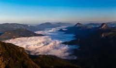 Morning fog over the valley (coagator) Tags: drenova zlatiborskiokrug serbia rs fog mist landscape morning