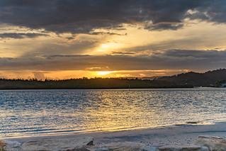 Shimmering Sunrise Waterscape