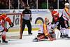 Cross the line (Katzenfutter) Tags: icehockey badnauheim del2 sports winter puck 200mm iso4000 nikon nikond800 d800 wetterau kurstadt