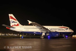 A319-131 G-DBCD BRITISH AIRWAYS