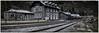 Nordhalben Station - Upper Franconia, Germany (dejott1708) Tags: nordhalben station upper franconia germany architecture slate panorama bavaria hdr landscape frankenwald forest deutschland bayern franken bahnhof schiefer architektur