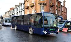 JMB Travel, Newmains (Demonstrator) BT66TZE (busmanscotland) Tags: jmb travel newmains demonstrator bt66tze bt66 tze mercedes benz mb citaro k mercedesbenz
