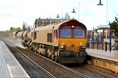 EWS / DB Cargo 66119 - Mansfield (the mother '66' 66001) Tags: ews dbschenker dbcargo class66 robinhoodline mansfield nottinghamshire rhtt railways 66119