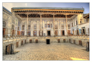 Bukhara UZ - Merchant Chodschajew house 01