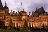 Waddesdon Manor, Buckinghamshire, all lit up for Christmas ... (Jackie L Matthews) Tags: waddesdon manor aylesbury buckinghamshire national trust sundaylights