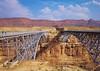 Historic Navaho Bridges, Lee's Ferry Arizona (Gail K E) Tags: arizona usa historic navaho grandcanyon coloradoriver desert scenic