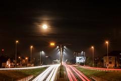 Full moon 🌝🌝 (Karlo Celcic) Tags: zagreb ceoatia explore amateurphoto lighttrails nightphoto expo long canon city longexpo
