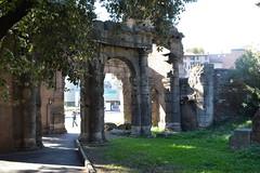 Rome, Italy - Portico of the Olitorio Forum (jrozwado) Tags: europe italy italia rome roma unescoworldheritage portico oltitorio forum foro