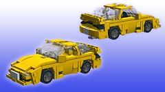 Infini RX-7 FD3S Type R [pre-final screenshot] (initial_dvache) Tags: ldd lego car 5wide 6wide mazda