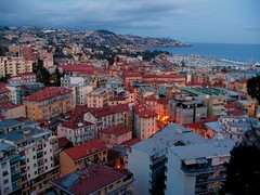 View over Sanremo