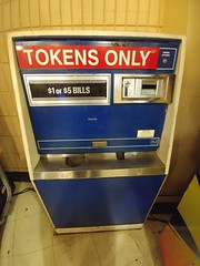 Time Machine (RZ68) Tags: tokens arcade only no quarters money machine change old vintage videogame pinball 70s 80s amusement