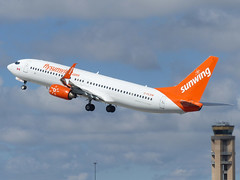 B738 C-FLSW (gulfstreamchaser) Tags: cflsw boeing 737 737800 sunwing kfll fll fortlauderdale